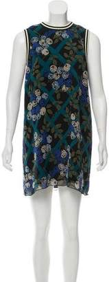 Anna Sui Floral Mini Dress w/ Tags