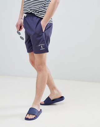 Hackett Mr. Classic swim shorts in navy