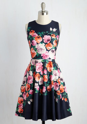 Eliza J /G-lll Apparel Group Back and Forte Floral Dress $169.99 thestylecure.com