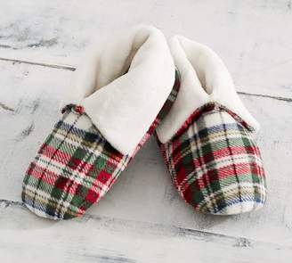 Pottery Barn Denver Plaid Booties