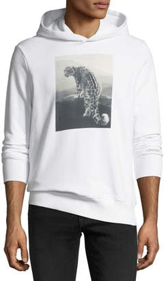 Ovadia & Sons Snow Leopard Graphic Hoodie