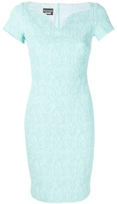 Moschino textured fitted dress