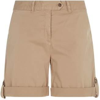 Purdey Stretch Cotton Twill Shorts