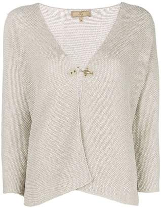 Fay single button cardigan