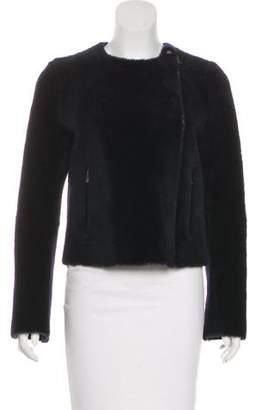 Celine Shearling Moto Jacket