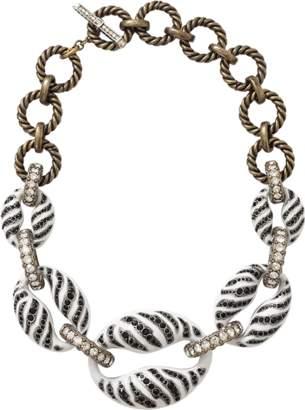 Lanvin Mina Tiger Chain Necklace