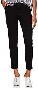 ATM Anthony Thomas Melillo Women's Cotton Slim Cargo Pants - Black