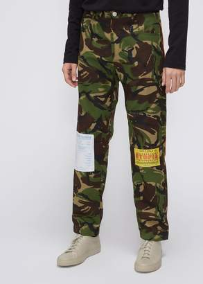 Martine Rose Camo Trouser