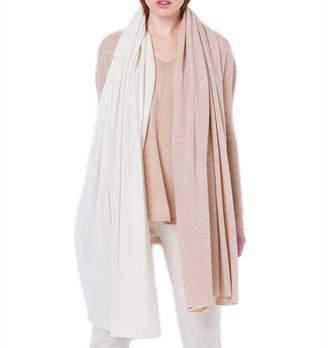 Cashmerism Dual-Tone Oversized Cashmere Travel Wrap