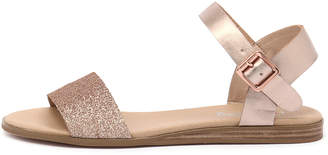 I Love Billy Oneday Rose gold Sandals Womens Shoes Casual Sandals-flat Sandals