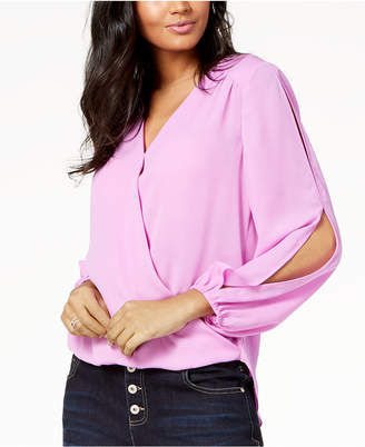 INC International Concepts I.n.c. Split-Sleeve Top, Created for Macy's