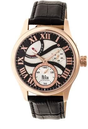 Reign Bhutan Automatic Watch - Rosetone/Black