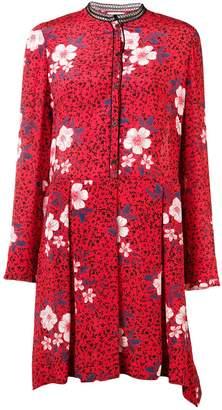 Zadig & Voltaire Zadig&Voltaire floral flared dress