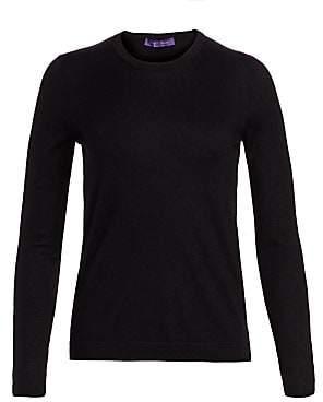 Ralph Lauren Women's Cashmere Crewneck Sweater