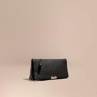 Burberry Medium Signature Grain Leather Clutch Bag $995 thestylecure.com