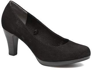Marco Tozzi Women's Lolly Rounded Toe High Heels In Black - Size Uk 4 / Eu 37