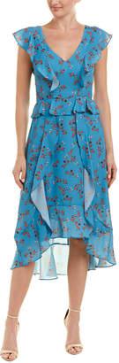 Parker Ruffle Midi Dress
