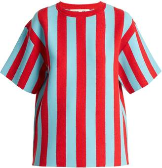 Diane von Furstenberg Milano striped sweater