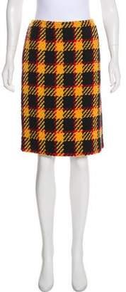 Marni Tweed Wool Skirt