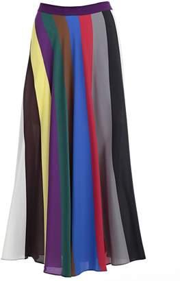 Semi-Couture Erika Cavallini Striped Skirt