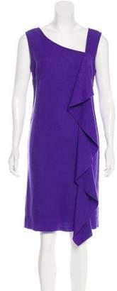 Tory Burch Sleeveless Wool Knee-Length Dress
