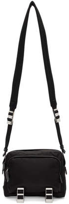 Prada Black Montagna Crossbody Bag