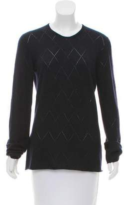 Giorgio Armani Patterned Wool Sweater
