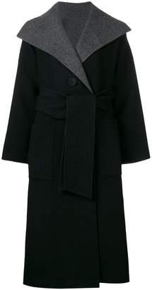 Issey Miyake wrap coat