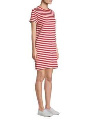 Polo Ralph Lauren Striped Cotton Jersey T-Shirt Dress