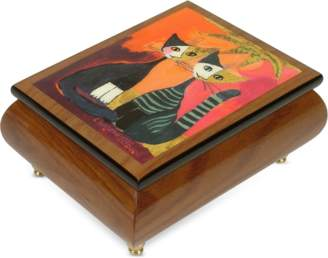 "Forzieri It's a Small World - ""Together"" Musical Jewelry Box"