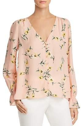Joie Bolona Floral Silk Top
