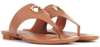 Salvatore Ferragamo Nfola leather sandals