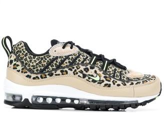 Nike 98 leopard print sneakers