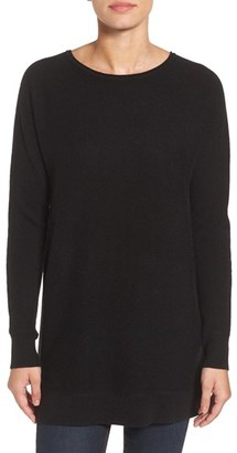 Women's Halogen High/low Wool & Cashmere Tunic Sweater $129 thestylecure.com