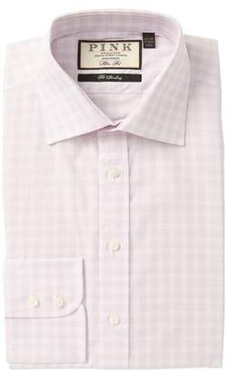 Thomas Pink Benton Slim Fit Check Dress Shirt