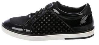 Jimmy Choo Patent Leather Low-Top Sneakers