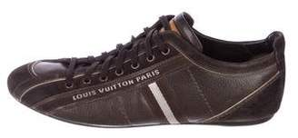 Louis Vuitton Leather Low-Top Sneakers