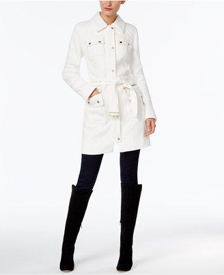 INC International Concepts Belted Walker Coat, Only at Macy's $169.50 thestylecure.com