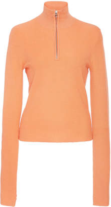 Sally LaPointe Cashmere-Blend Knit Ski Top