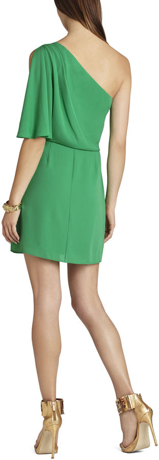 BCBGMAXAZRIA Mina One-Shoulder Dress