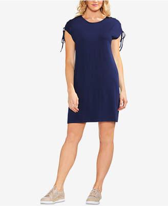 Vince Camuto Lace-Up-Shoulder Dress