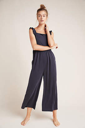 Saturday/Sunday Billie Ribbed Cupro Jumpsuit