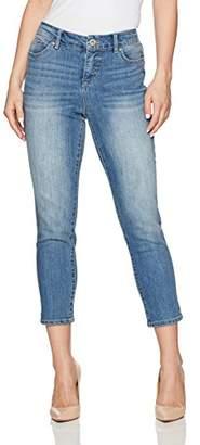 Bandolino Women's Petite Mandie 5 Pocket Ankle Jean