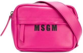 MSGM logo print bum bag
