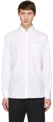 Neil Barrett White Folded Collar Shirt