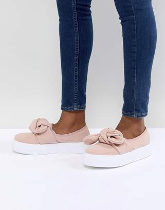 Asos DESIGN Denise Bow Sneakers