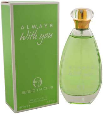 Sergio Tacchini Always With You Women's Eau de Toilette Spray, 3.3 Ounce