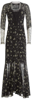 Etro Floor Length Printed Silk Gown