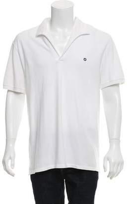 Gucci Piqué Appliqué Polo Shirt