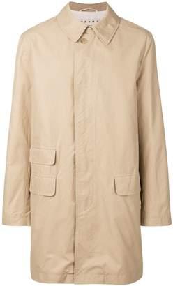Marni pointed collar coat